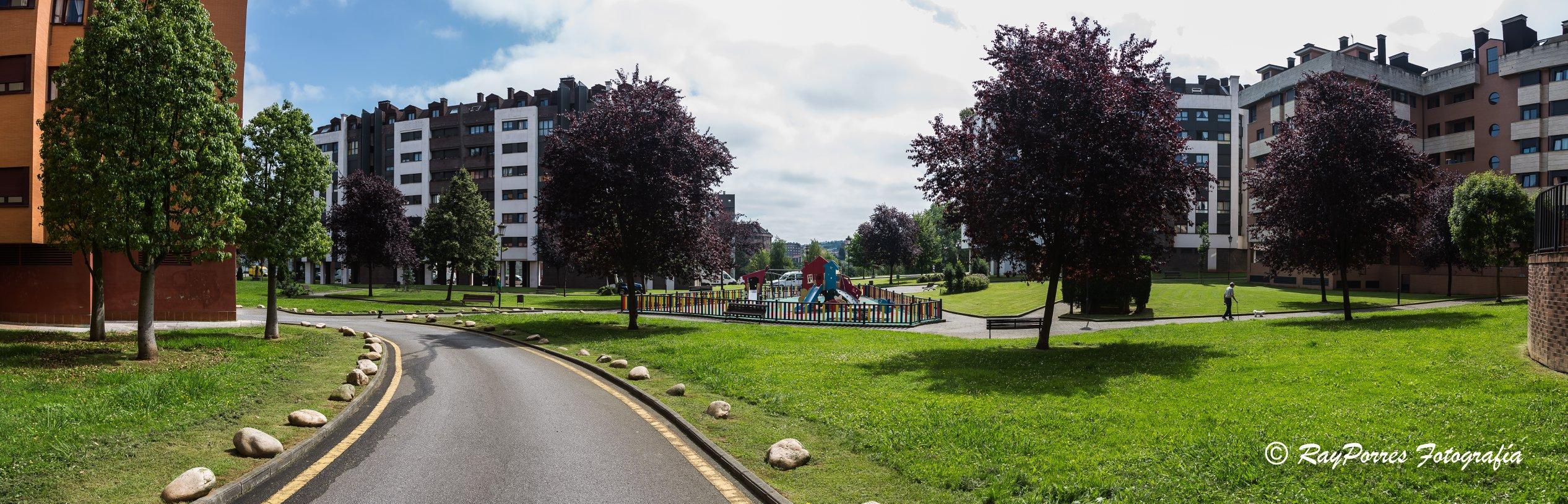 Plaza del Desarme en Oviedo